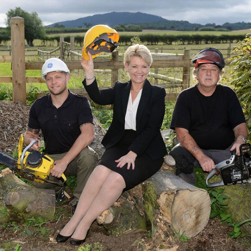 New wild flower meadow to become home for Shropshire bees and weddings