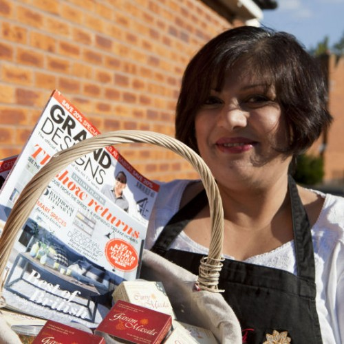 Lajina Leal to perform cookery demonstrations at Grand Designs Live