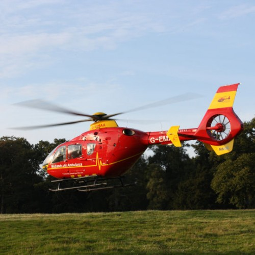 Two taken to hospital following crash near Bridgnorth