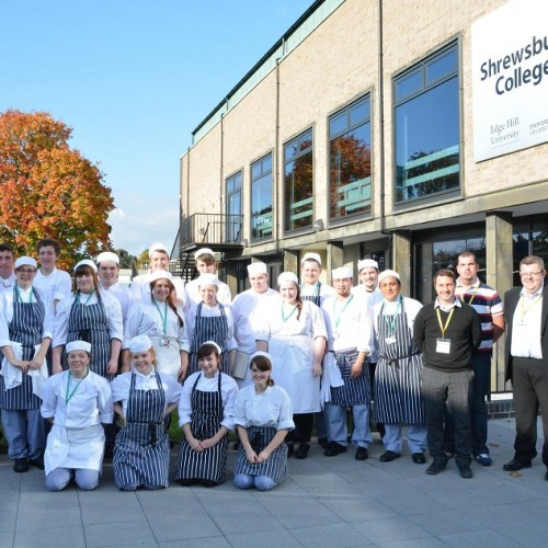Catering students compete in 'Ready, Steady, Cook' competition
