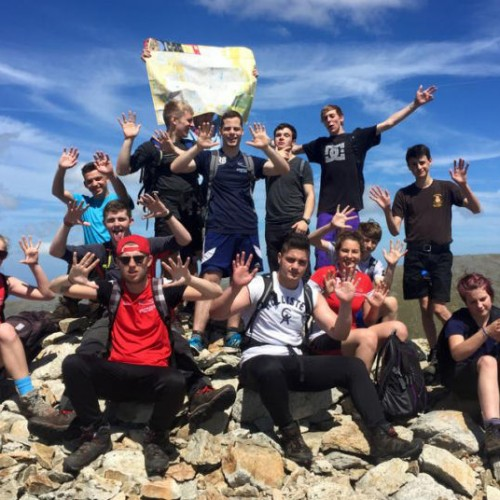 Students raise over £1000 for charity with gruelling Mountain challenge