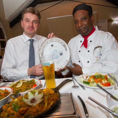 MP congratulates Shrewsbury chef on UK award & nominates him for MPs' Tiffin Cup