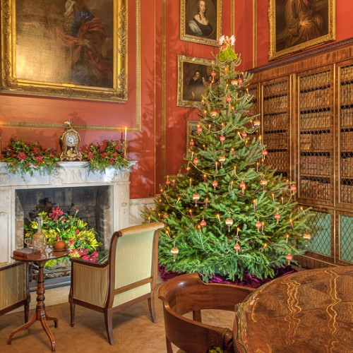 Mansion opens its doors for Christmas at Attingham Park
