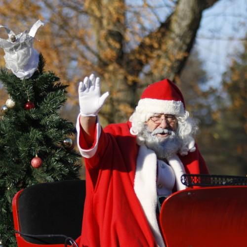 Santa's sleigh tour 2015: Telford