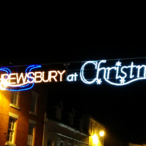 Final preparations underway for Shrewsbury's Christmas light switch on