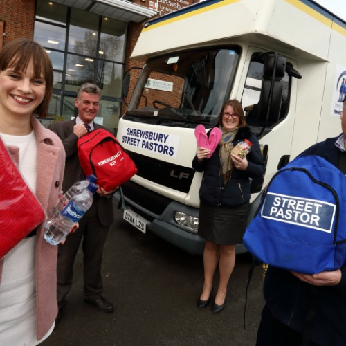 Shrewsbury Street Pastors get mobile support centre for Christmas