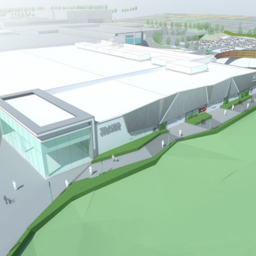 Telford Shopping Centre's Northern Quarter works begin