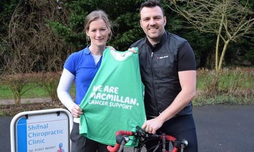 Ironman charity bid saved by county chiropractor