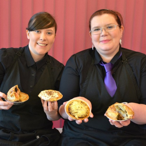 Shrewsbury-based catering company ventures into the world of pies