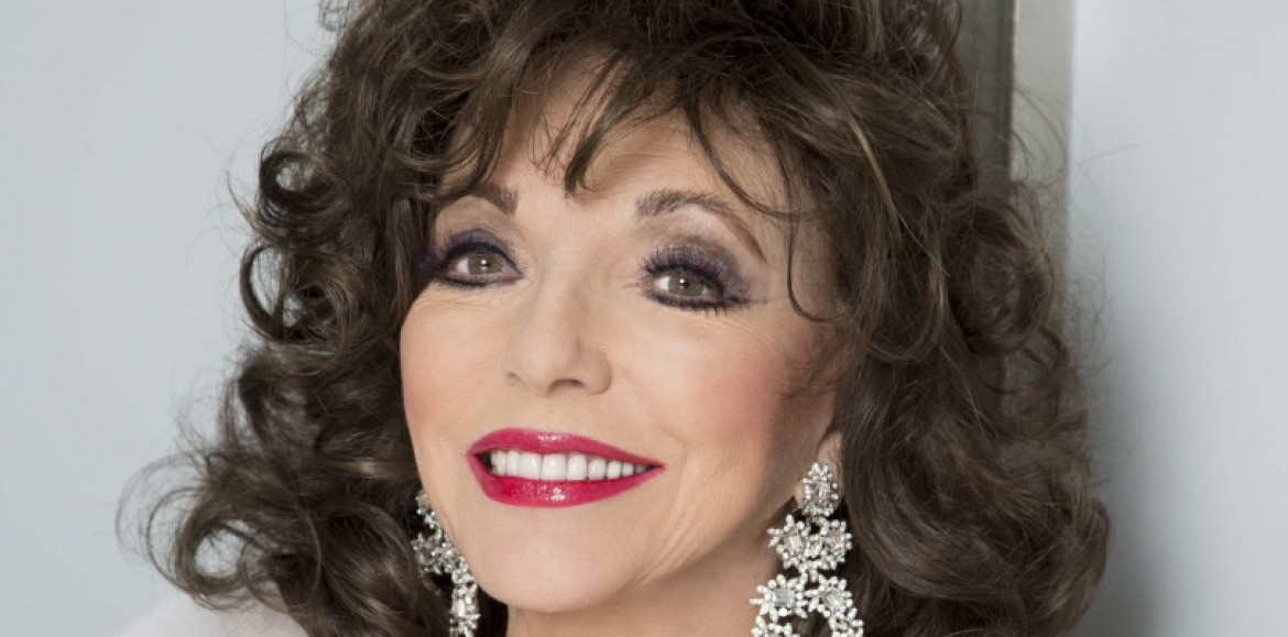 Joan Collins to visit Shrewsbury with new one-woman show