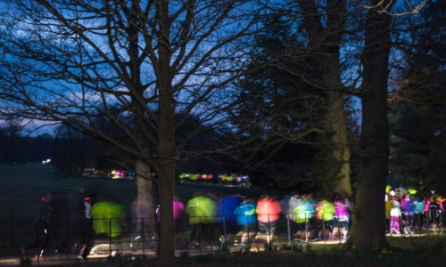 Join the Night Run craze at Attingham Park