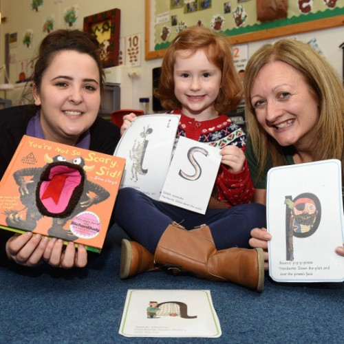 Young children learn their ABCs thanks to family-run tutoring business