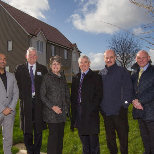 Innovative rural housing development in Kinlet officially opened
