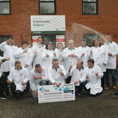 Shropshire pie factory syndicate wins big slice of EuroMillions for second time