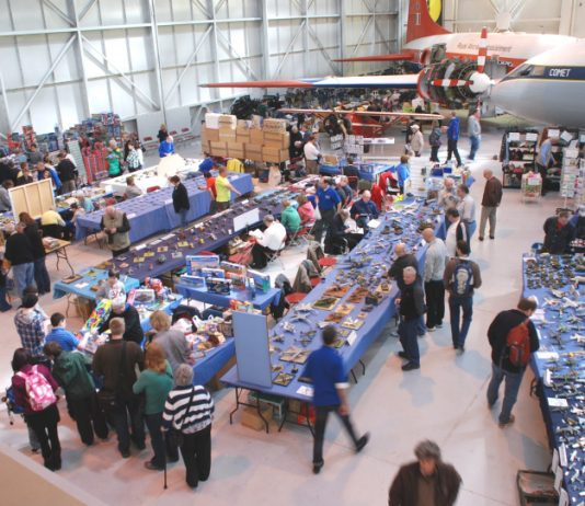 The Shropshire Scale Model Show. Photo: ©Trustees of the Royal Air Force Museum