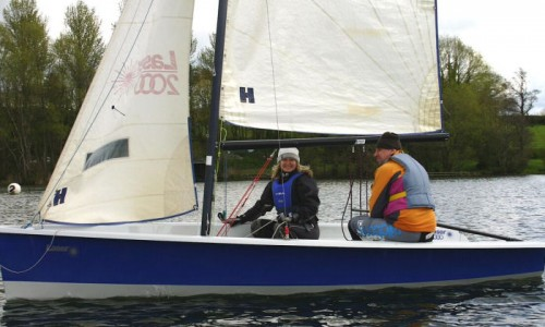 If you have ever fancied a go at sailing, then push the boat out!
