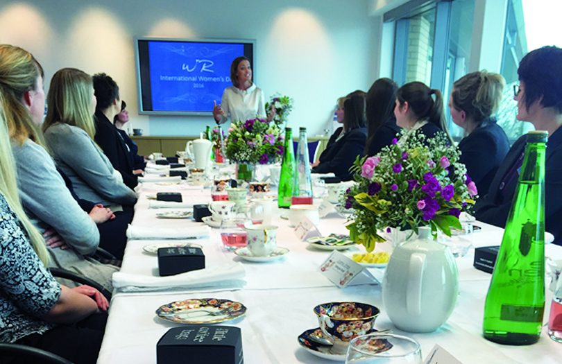 Whittingham Riddell celebrate International Women's Day with afternoon tea