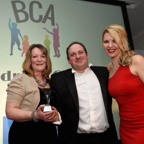 Shropshire family to go on holiday with money raised at awards ceremony