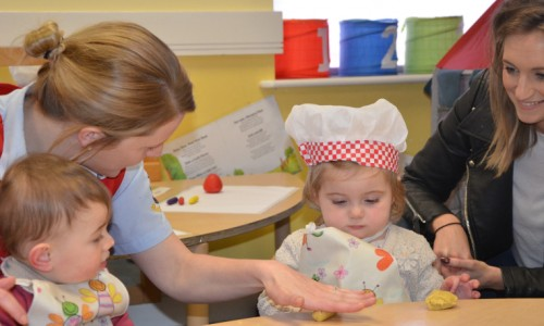 Shrewsbury nursery launches new baby development group