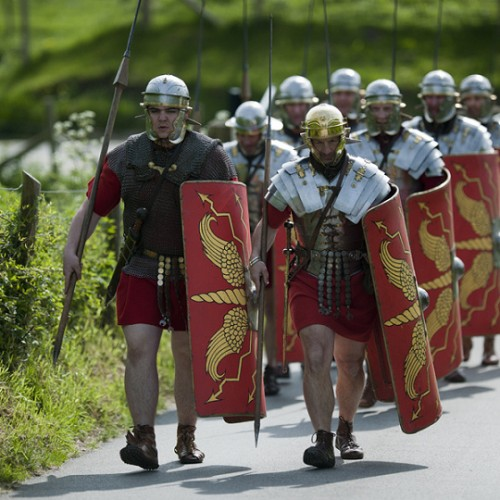 Ermine Street Guard to invade Wroxeter Roman City this weekend