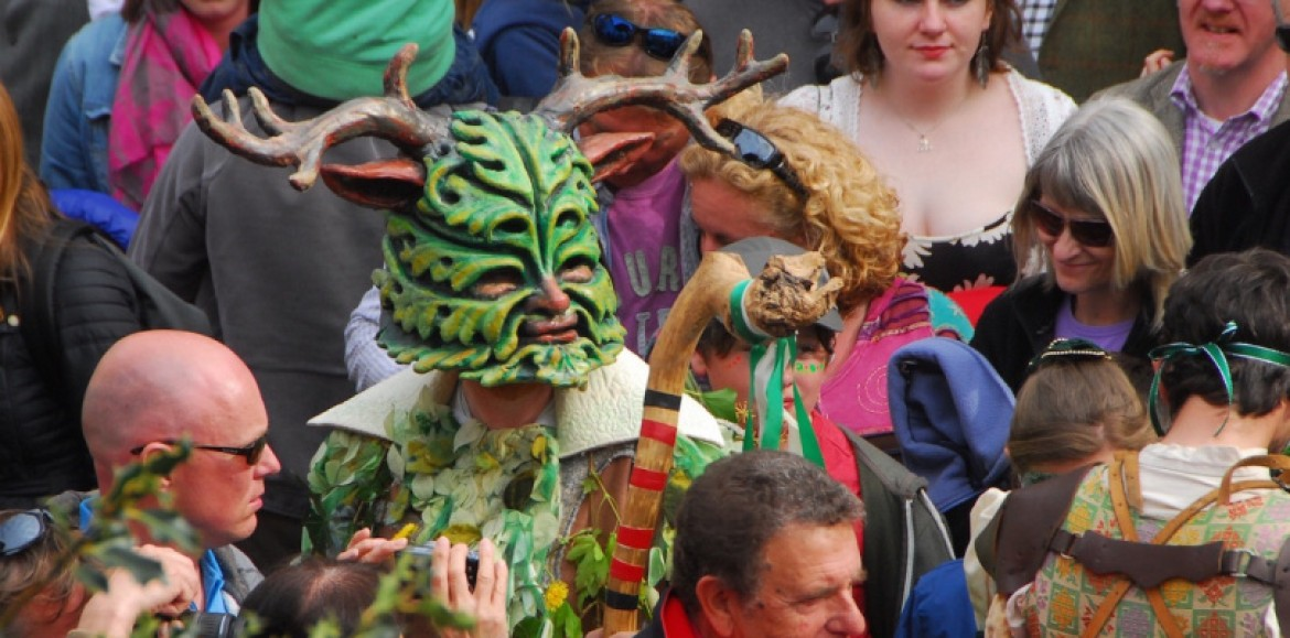 Help summer win over winter at Clun Green Man Festival this weekend