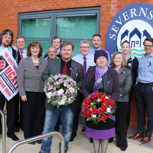 Severnside Housing commemorates International Workers Memorial Day