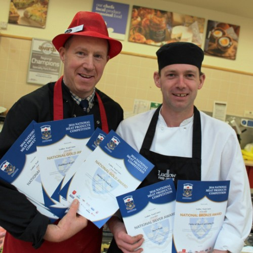 Ludlow Food Centre has another meaty success