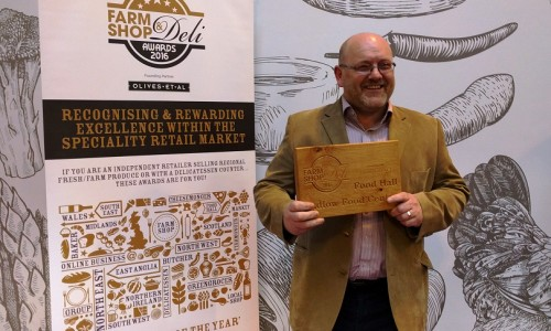 Ludlow Food Centre crowned Food Hall of the year at the Farm Shop & Deli Awards 2016