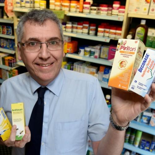 Shropshire pharmacist supports allergy awareness week