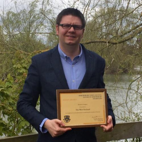 Shrewsbury company picks up fourth Mayor of Shrewsbury Award