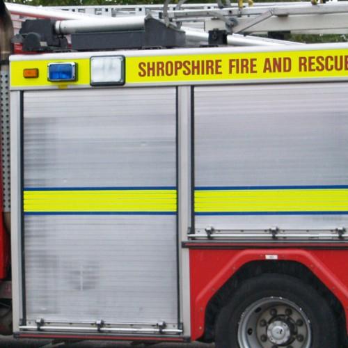 Woman taken to hospital following kitchen fire in Telford
