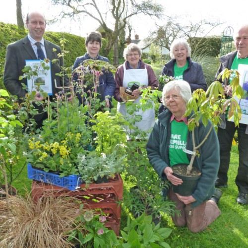 Oak sapling linked to the Duke of Wellington to be auctioned at Welshampton Plant Fair