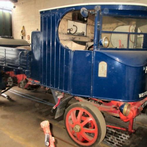 Rare Sentinel steam wagons to go under the hammer
