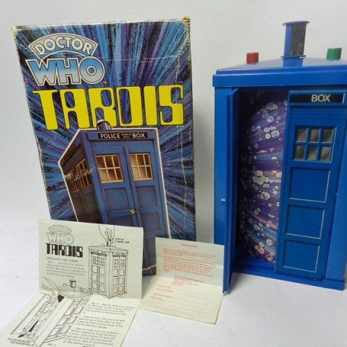 Doctor Who collection set for auction in Shrewsbury