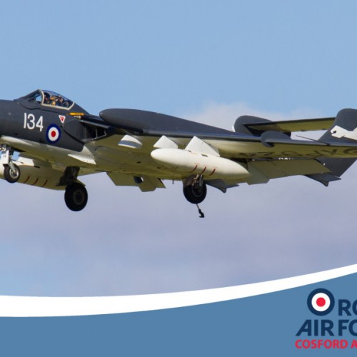 Classic jet showcase at RAF Cosford Air Show
