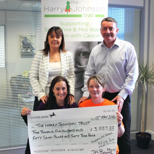 Harry Johnson Trust benefits from Shropshire Kids Festival