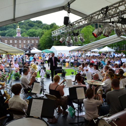 Ironbridge Gorge Brass Band Festival goes from strength to strength