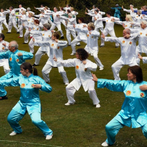 Discover the art of Tai Chi in Telford Town Park