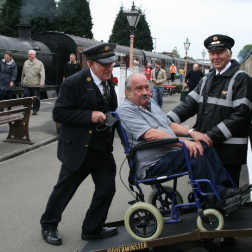 Severn Valley Railway wins £75,000 to transform facilities for disabled visitors