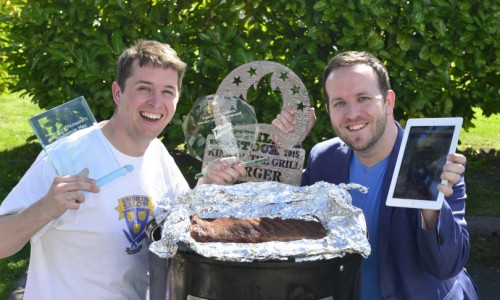 Sizzling success for Shropshire competition barbeque team