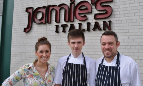 Telford student lands job at Jamie Oliver's restaurant