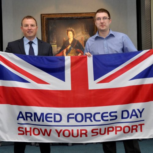 Shropshire celebrates Armed Forces Day