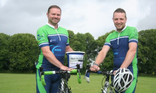 Teme Leisure staff take part in huge cycle challenge