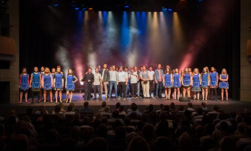Shrewsbury College students raise the roof at Theatre Severn