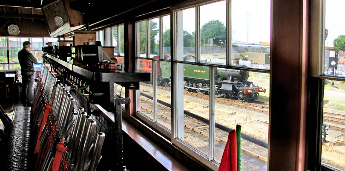 See behind closed doors at the Severn Valley Railway