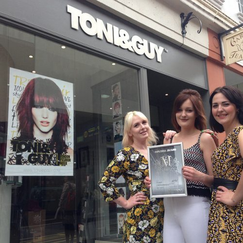 Shropshire hairdresser in finals of national competition