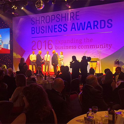 Tigers help to raise £4,000 for Severn Hospice at business awards