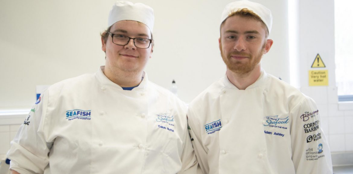 Seafood chefs cook up a treat in national final