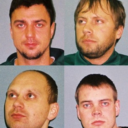 Four men found guilty of conspiracy to burgle are sentenced