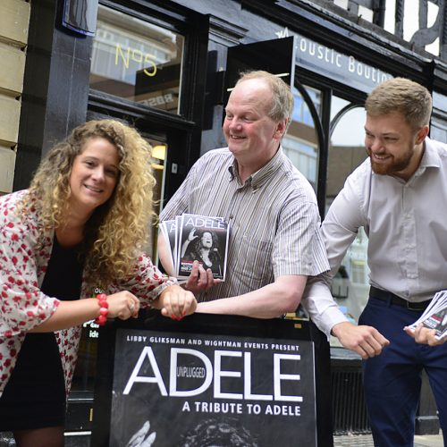 'Acoustic Adele' comes to Shrewsbury